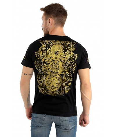 KALI,AUM,OM,Mens,Tshirt,100%,Cotton,Organic,Cotton,Trippy,Comfortable,Durable,hippie,shirts,Psychedelic,clothing,Goa,Psy,gear,Festival,clothing,clothes,Fashion,Tshirts,India,Shipping,worldwide,T shirts
